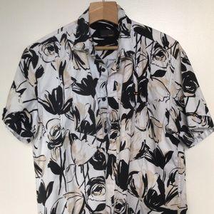 Fendi Floral Shirt